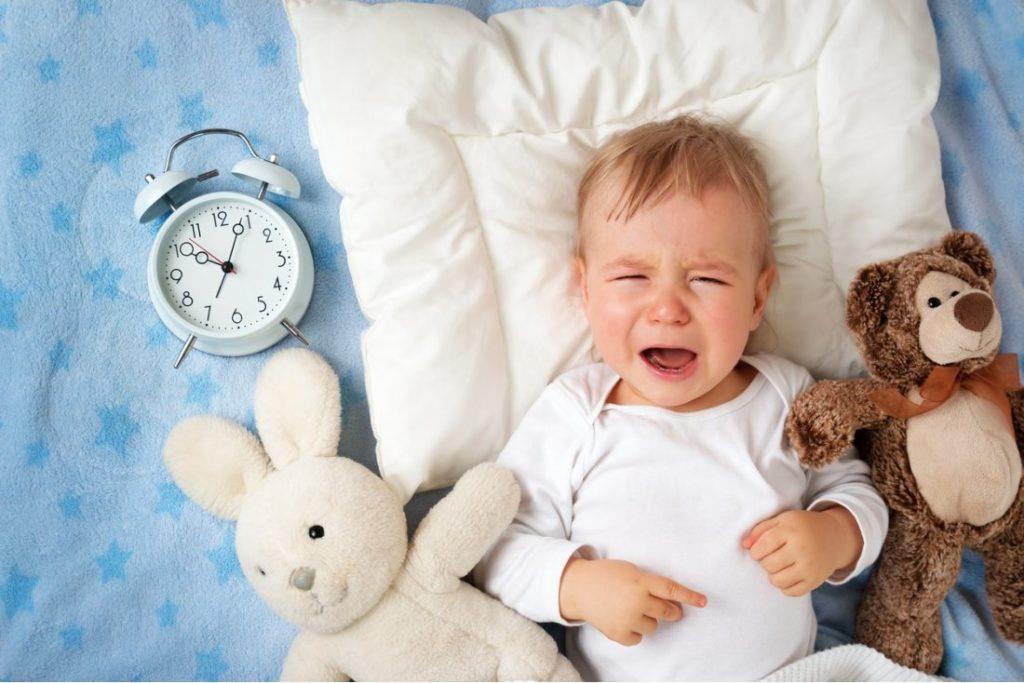 Почему ребенок не спит