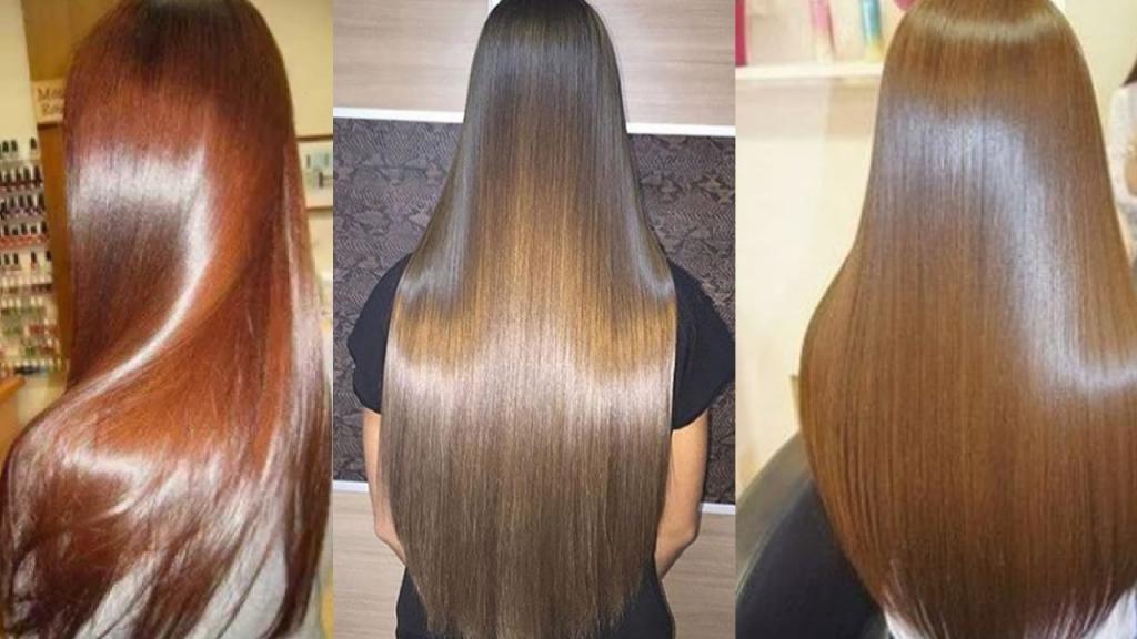 Блестящие волосы в домашних условиях