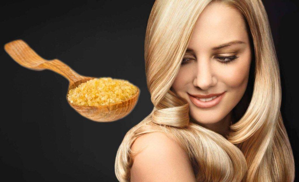 Маска из желатина для блестящих волос в домашних условиях
