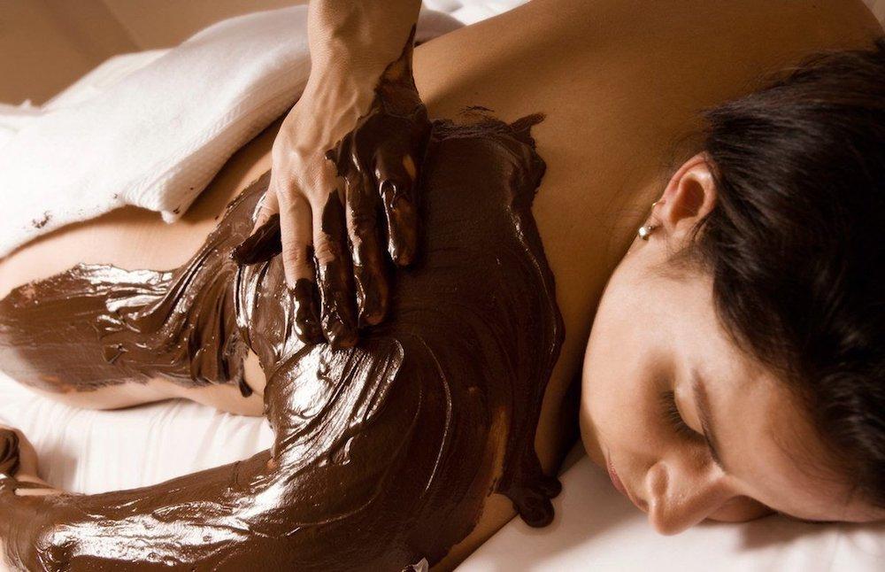 Шоколадное обёртывание против целлюлита