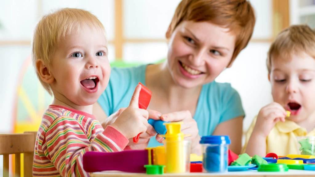 Формирование речи ребенка происходит постепенно