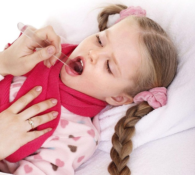 Как у ребенка лечить ангину