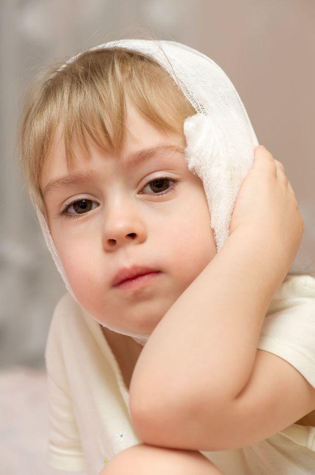 Компресс ребенку при паротите
