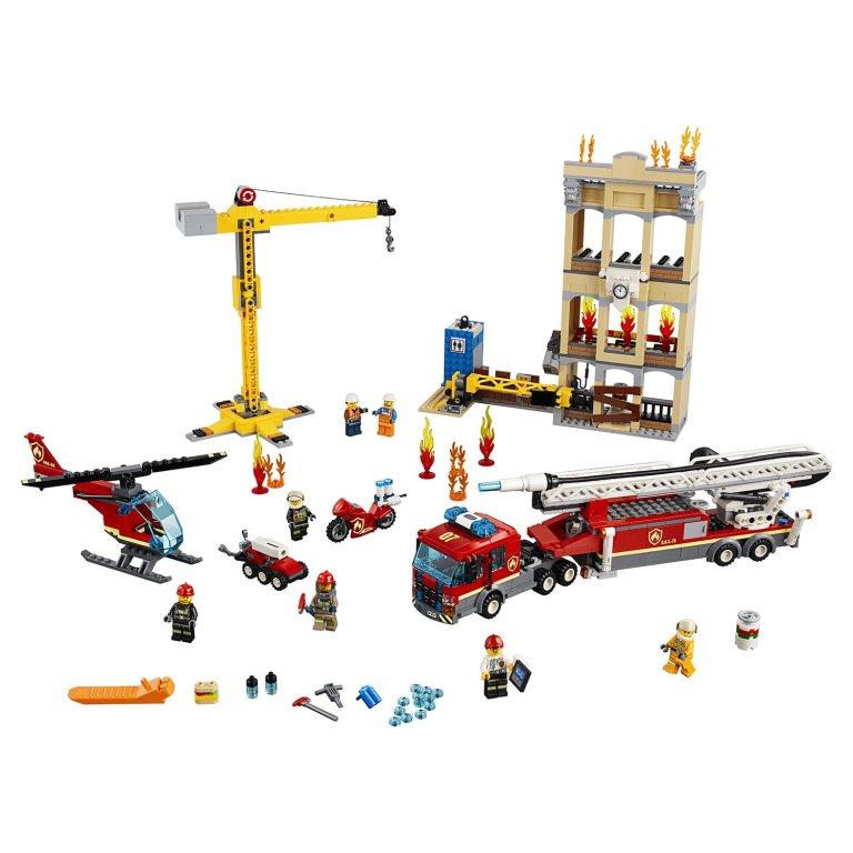Конструктор LEGO City Fire (Центральная пожарная станция)
