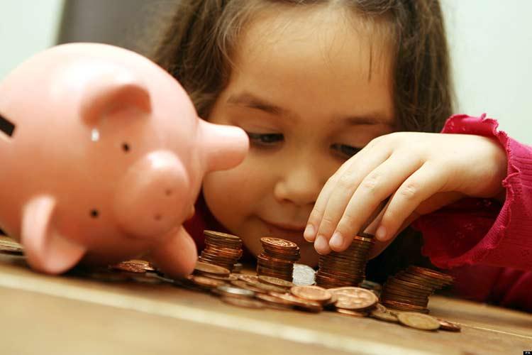Копилка для денег ребенку