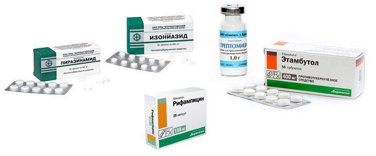 Медикаментозное лечение туберкулеза