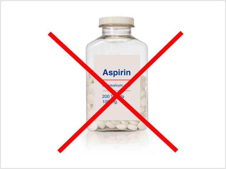 Нельзя давать детям Аспирин в качестве жаропонижающего средства!