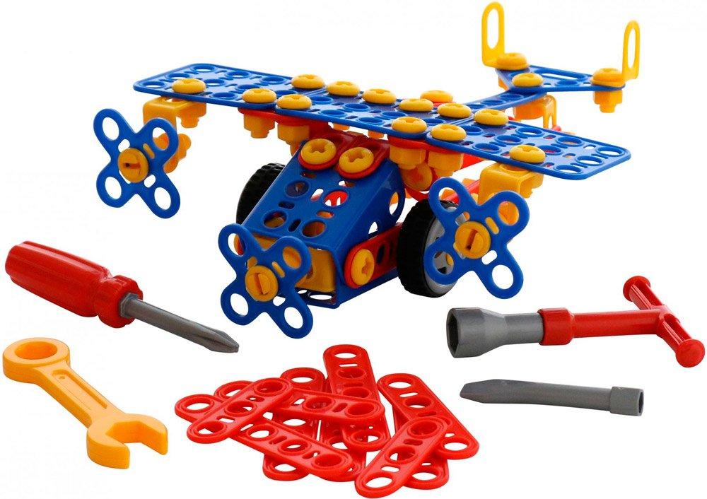 Пластмассовый конструктор Полесье (аналог металлическому)