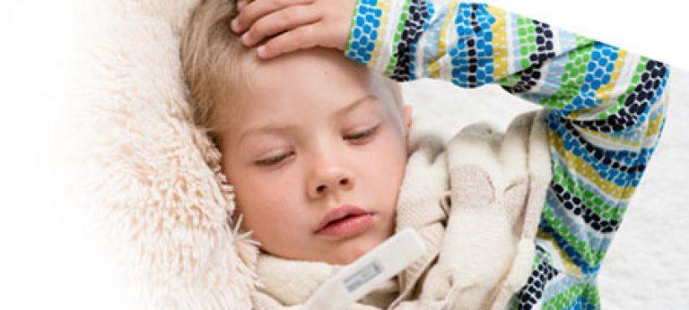 Повышение температуры у ребенка при мононуклеозе