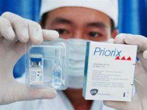 Вакцина Приорикс