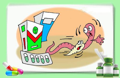 Гельминтоз у детей необходимо лечить