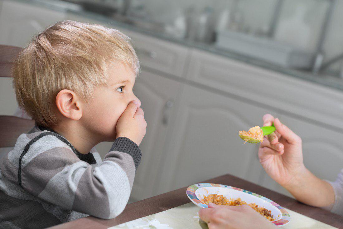 Не стоит заставлять ребенка есть, если он не хочет