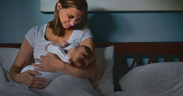 Ночные кормления грудничков