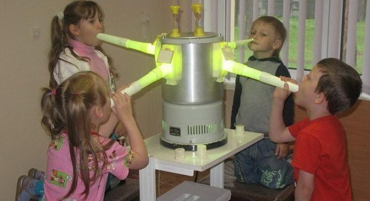 УФО процедура детям