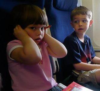 Закладывает ушки в самолете