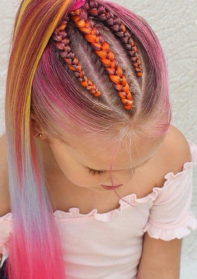 Детские мелки для волос