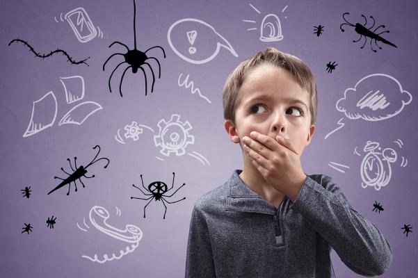 Как побороть страх ребенка