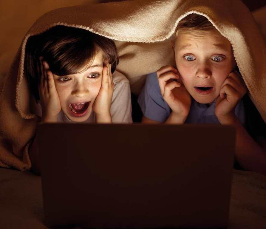 Просмотр ужастиков становится причиной ночных кошмаров у детей