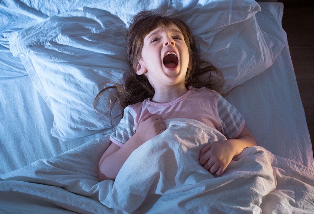 Ребенок кричит по ночам