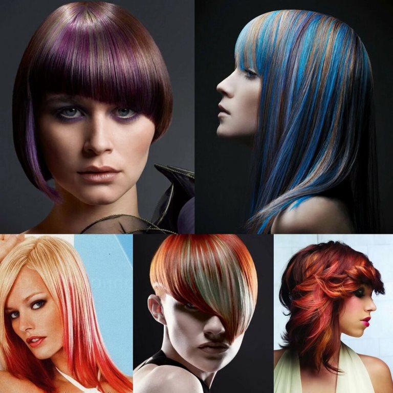 Типы окрашивания волос
