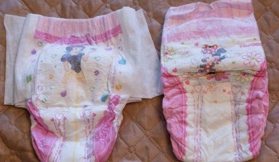 Трусики-подгузники для девочек