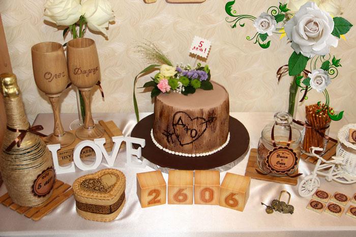 подарки на деревянную свадьбу фото причинили