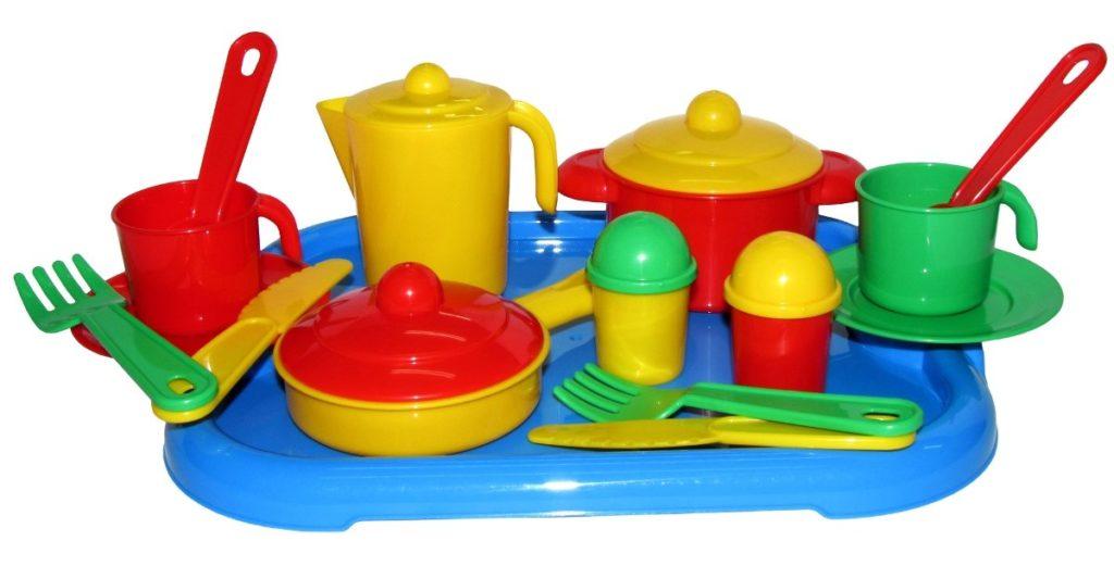 Детская игровая посудка