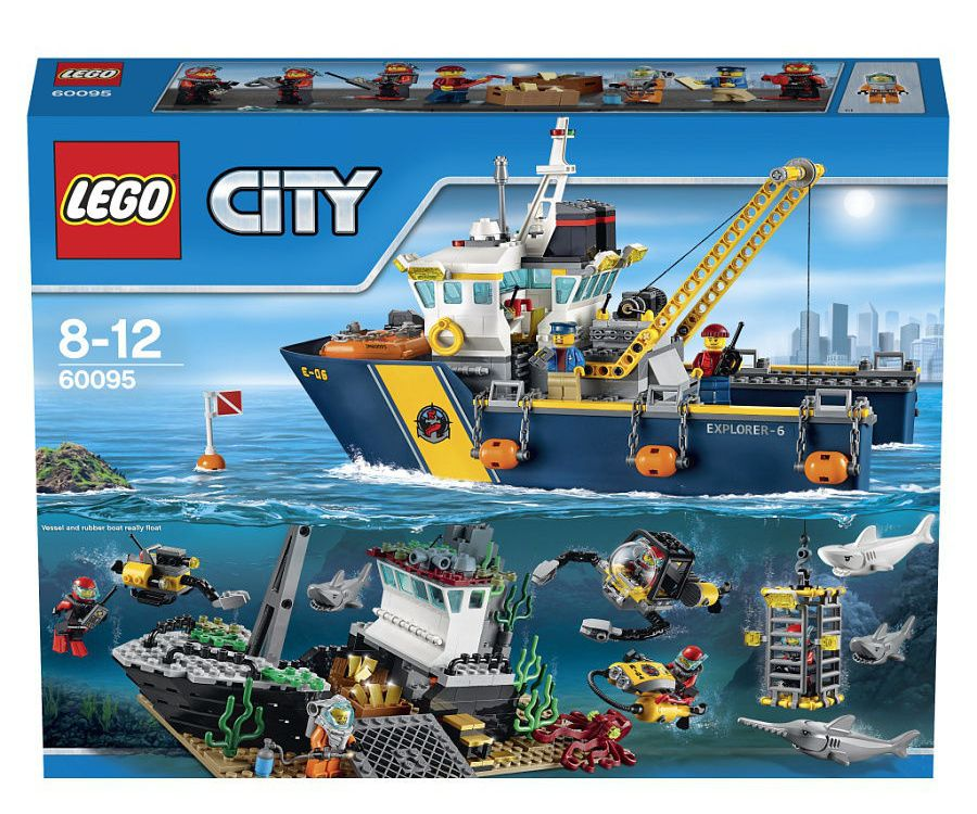 Lego City Исследователи морских глубин