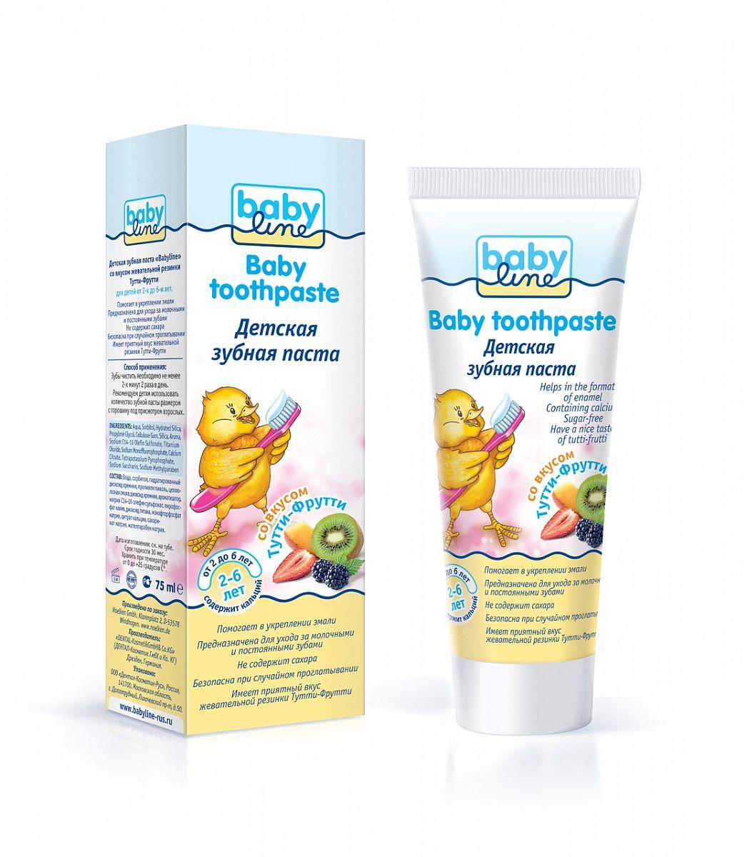 Зубная паста BabyLine Тутти-Фрутти