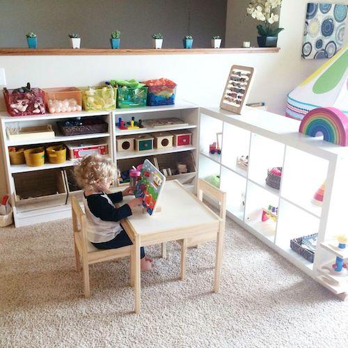 Детская комната ребенка по Монтессори