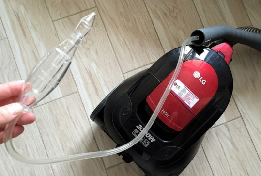 Применение вакуумного аспиратора