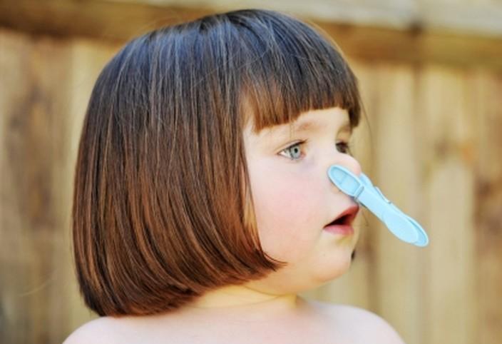 Ребенок не может дышать