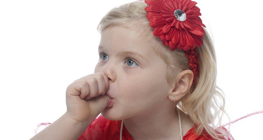 Детки постарше не должны сосать пальцы
