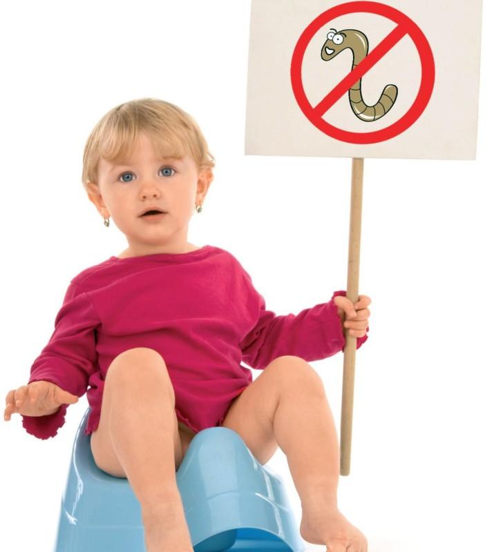 Энтеробиоз у ребенка