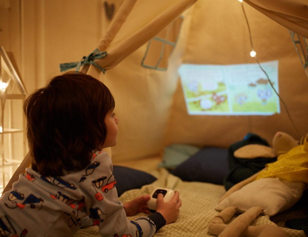 Портативный проектор для ребенка