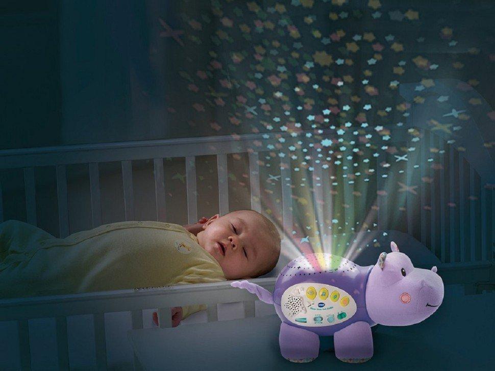 Проектор-ночник в детской комнате