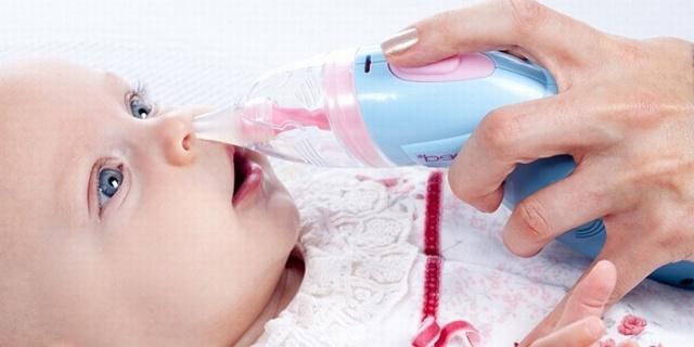 Как очистить нос ребенку