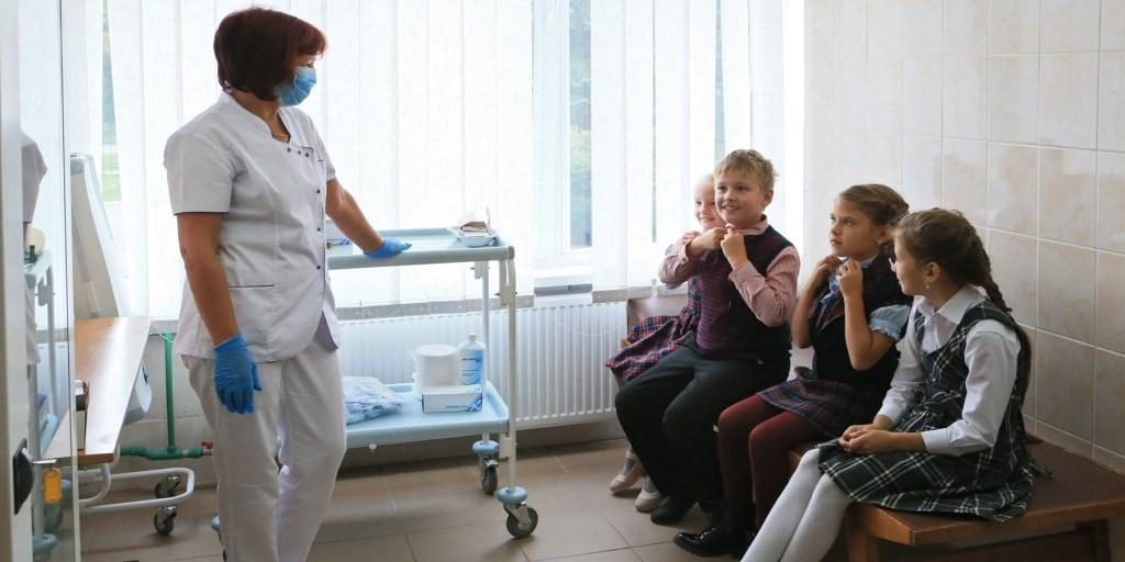 Медицинские осмотры в школах