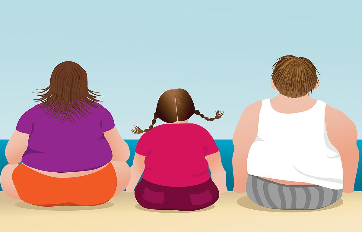 Наследственная предрасположенность к ожирению