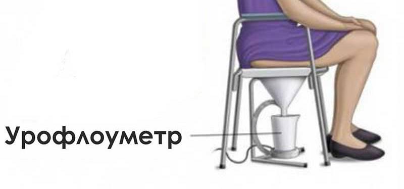 Метод диагностики детского энуреза (урофлоуметрия)