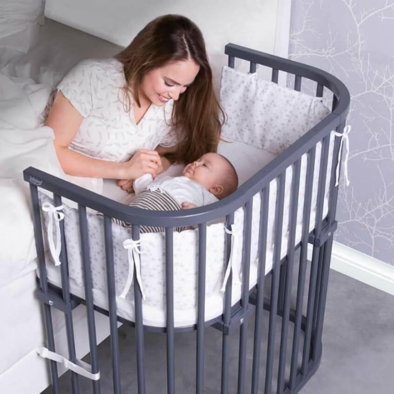 Приставная кроватка для малыша